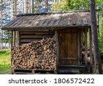 Finnish Wooden Sauna Log Cabin...