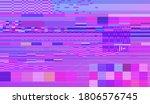glitch datamoshing camera... | Shutterstock .eps vector #1806576745