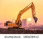 Heavy Wheel Excavator Machine...