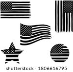 5 sets of the vector of the... | Shutterstock .eps vector #1806616795