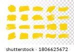 set of brush strokes. grunge... | Shutterstock .eps vector #1806625672