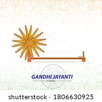 gandhi jayanti is a national...   Shutterstock .eps vector #1806630925