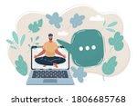 cartoon vector illustration of... | Shutterstock .eps vector #1806685768