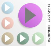 play badge color set. simple...