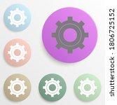 setting badge color set. simple ...