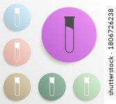 photo badge color set. simple...