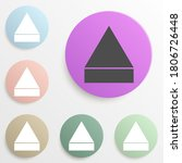 sign open badge color set....