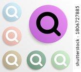 magnifier badge color set....