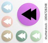 rewind sign badge color set....