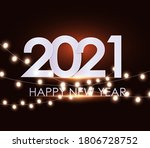happy new year 2020 winter... | Shutterstock .eps vector #1806728752