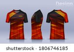 t shirt sport design template ... | Shutterstock .eps vector #1806746185