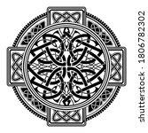 ancient pagan scandinavian...   Shutterstock .eps vector #1806782302