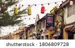 kuching  sarawak malaysia ... | Shutterstock . vector #1806809728