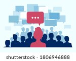 vector of a large group of... | Shutterstock .eps vector #1806946888
