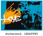 abstract grunge background | Shutterstock .eps vector #18069985