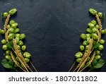 Wheat Beer Concept Background....