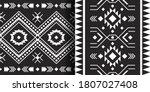 set of ethnic aztec prints....   Shutterstock .eps vector #1807027408