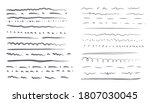 set isolated hand drawn... | Shutterstock .eps vector #1807030045