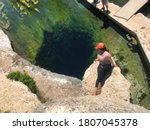View From Above Jacobs Well In...