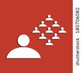 concept for leadership  social...