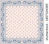 bandana print. vector seamless... | Shutterstock .eps vector #1807104385