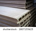 Polymer Decking Board Stacked...