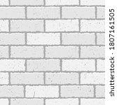 white brick wall texture... | Shutterstock .eps vector #1807161505