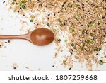 Miscellaneous grains with wood...