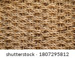 The Texture Of Straw  Weaving...