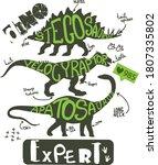 Dino Expert. Typography Print...