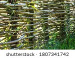 Fence Wicker From The Vine ...