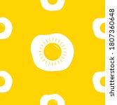 fried scrambled egg icon. yolk... | Shutterstock .eps vector #1807360648