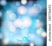 abstract effect on the blurred... | Shutterstock .eps vector #180736652