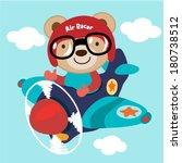 Airplane With A Teddy Bear....