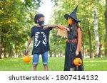 Two Friends In Halloween...