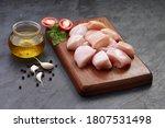 Raw Chicken Tender Fry Cut...