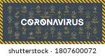 coronavirus covid19 prevention... | Shutterstock .eps vector #1807600072