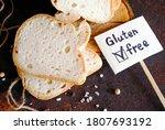 gluten free sliced bread salt...   Shutterstock . vector #1807693192