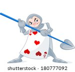 card soldier from wonderland...