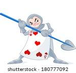 card soldier from wonderland...