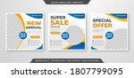 set of fashion sale social... | Shutterstock .eps vector #1807799095