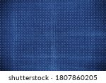 background from raster dots on...   Shutterstock . vector #1807860205