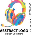 Abstract Logo About Music  With ...