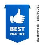 best practice ribbon banner...