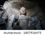 Seated Statue Of Amitabha...