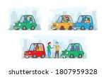 road aggression  characters... | Shutterstock .eps vector #1807959328