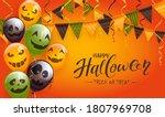 set of orange  green and black... | Shutterstock .eps vector #1807969708