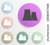 nuclear power plant badge color ...