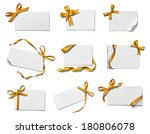 collection of various note card ... | Shutterstock . vector #180806078