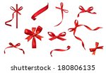 collection of various  red... | Shutterstock . vector #180806135